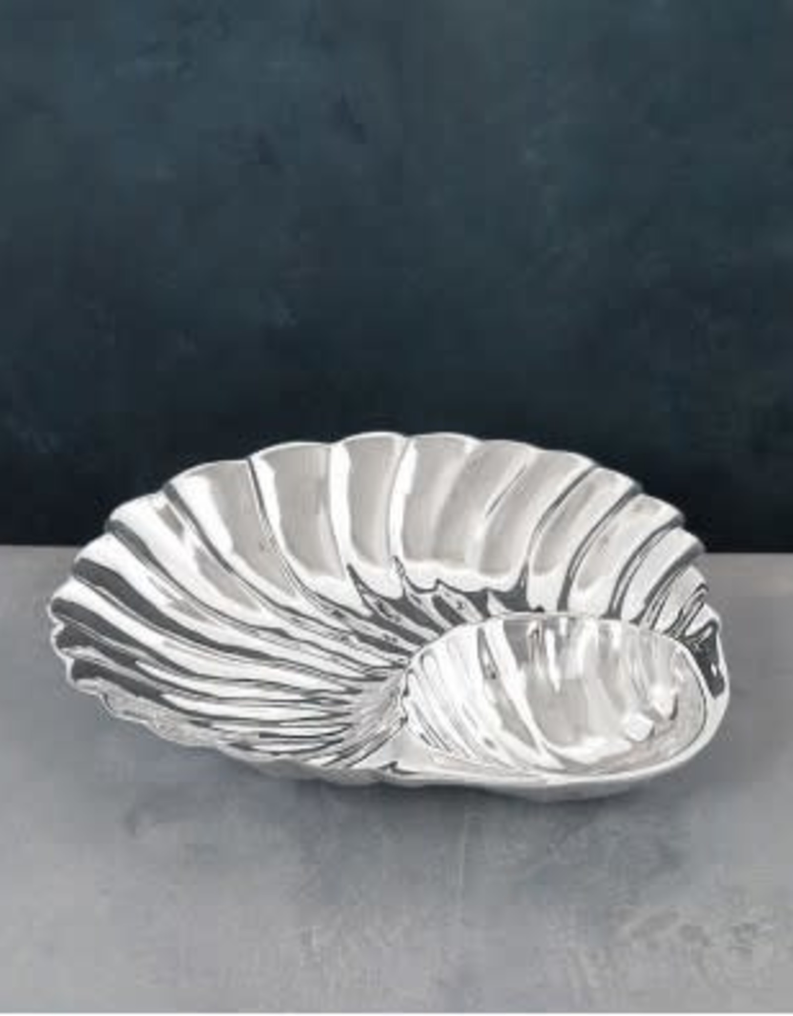Beatriz Ball Ocean Shell Bowl w/Dip/Lg