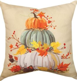 Manual Stacked Pumpkin Pillow