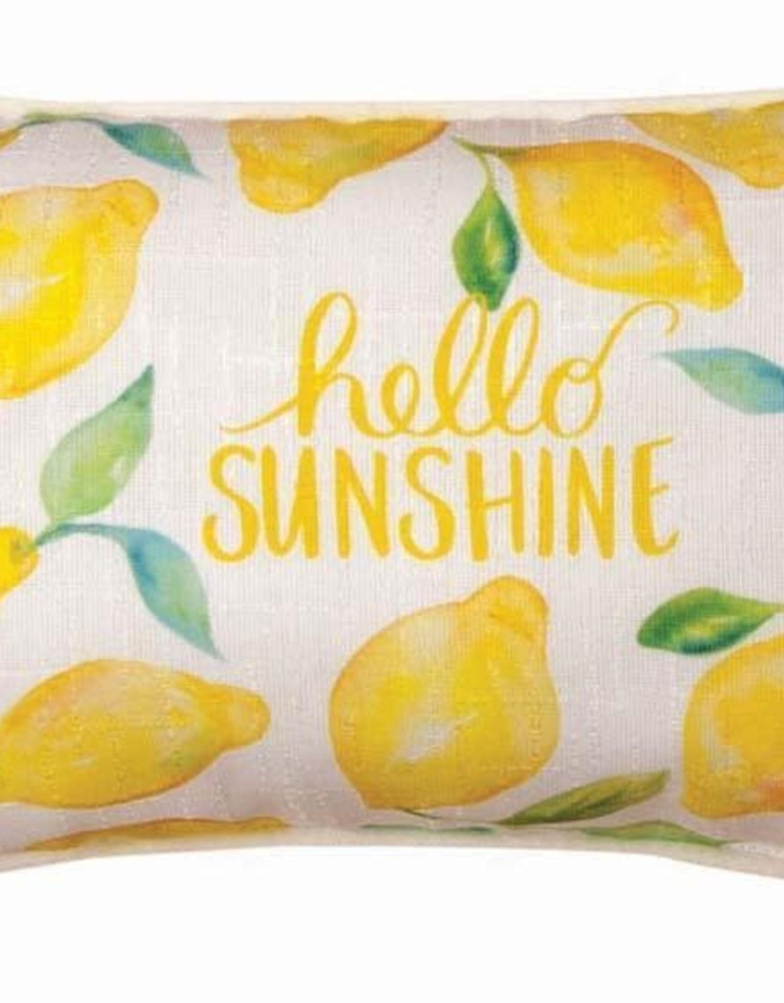 Manual Lemon Sunshine Pillow