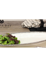 Pampa Bay Oval Serving Piece