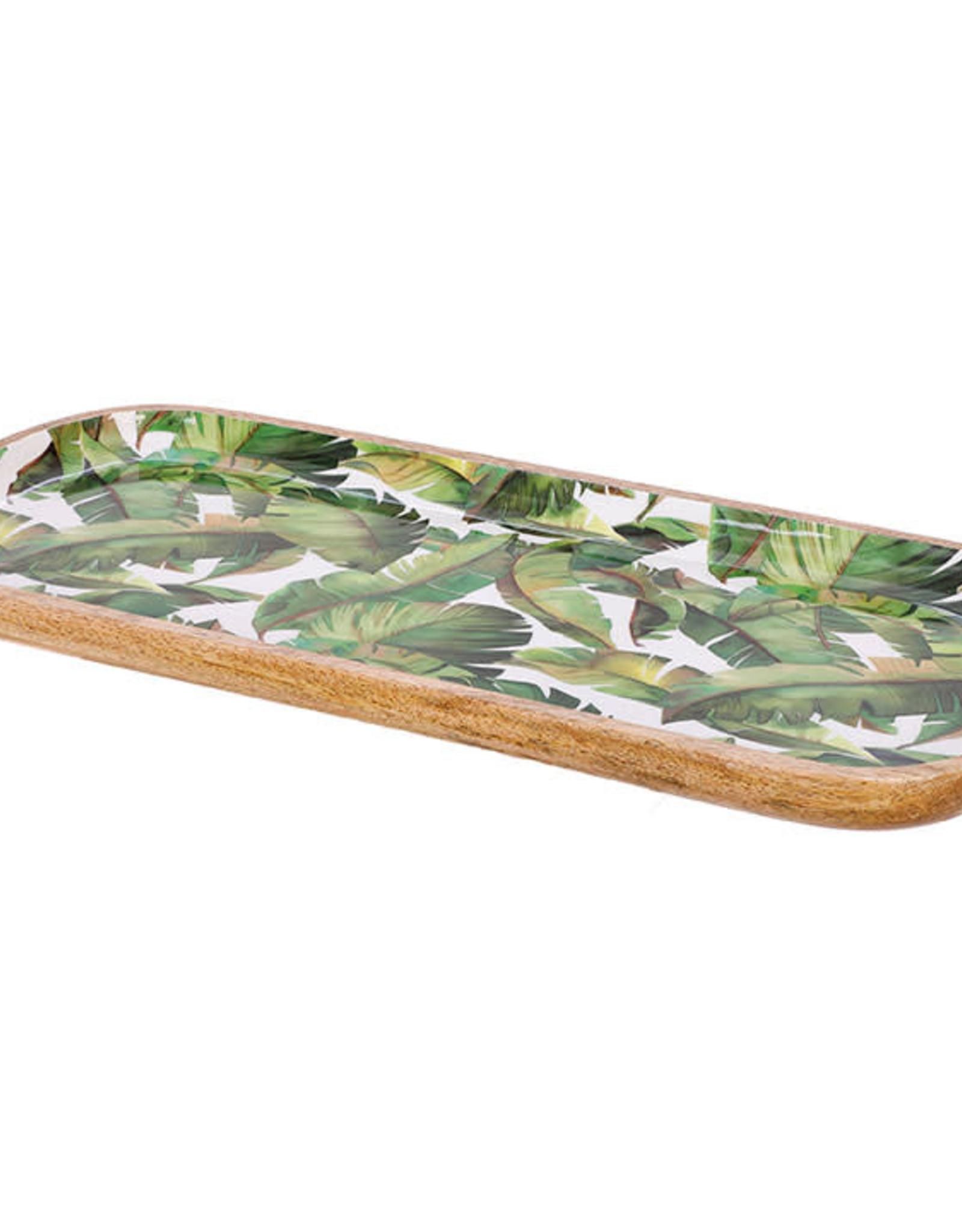 Raz Banana Leaf Tray
