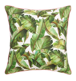 Raz Banana Leaf Pillow