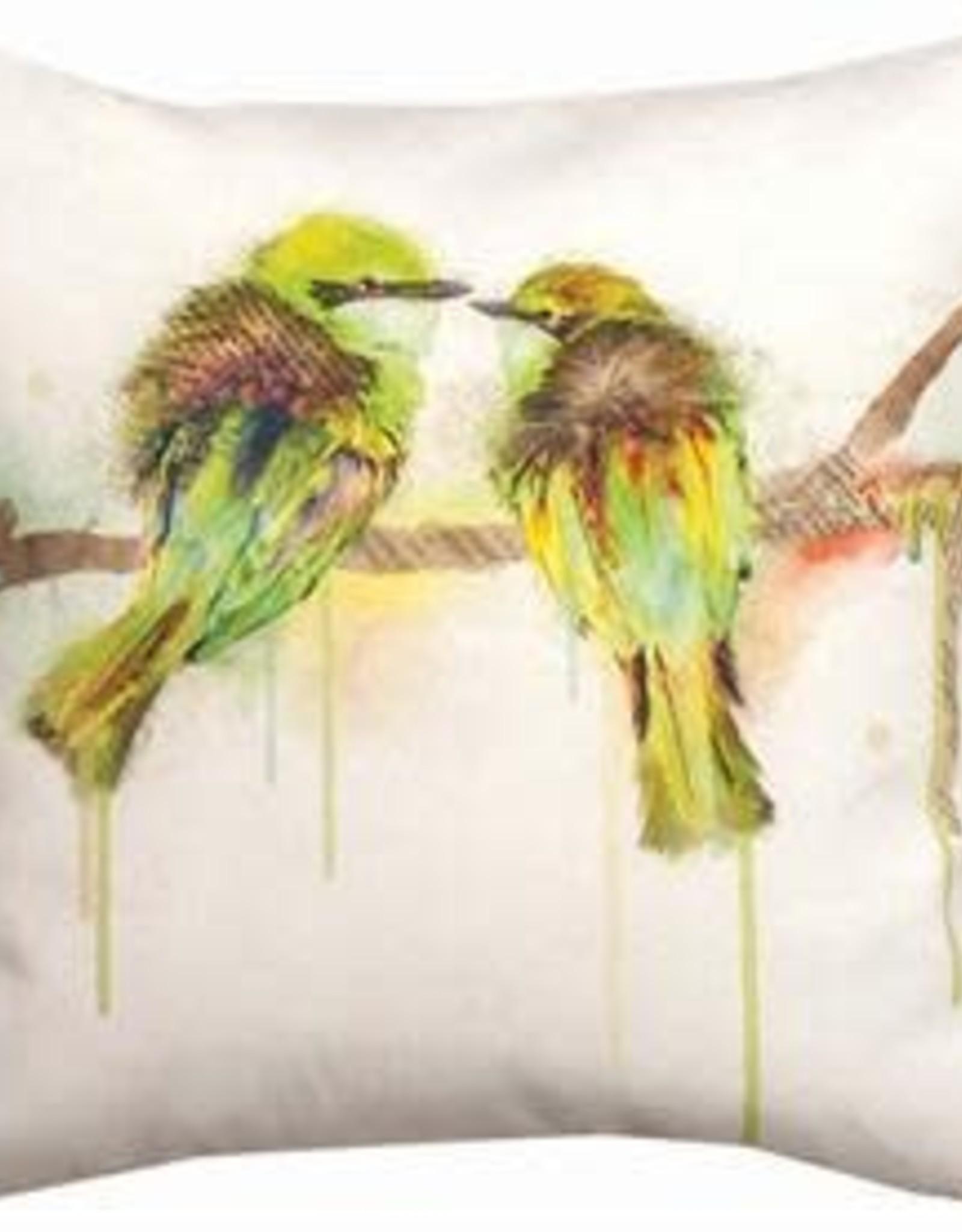 Manual Love Birds Pillow