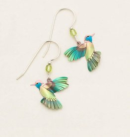 Holly Yashi Picaflor Hummingbird Earrings