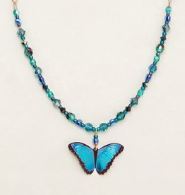 Holly Yashi Bindi Butterfly Necklace