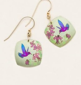 Holly Yashi Hummingbird Spring Earrings