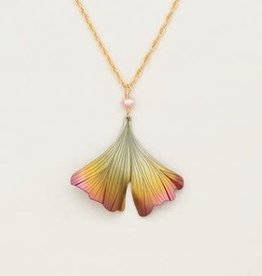 Holly Yashi Gingko Pendant