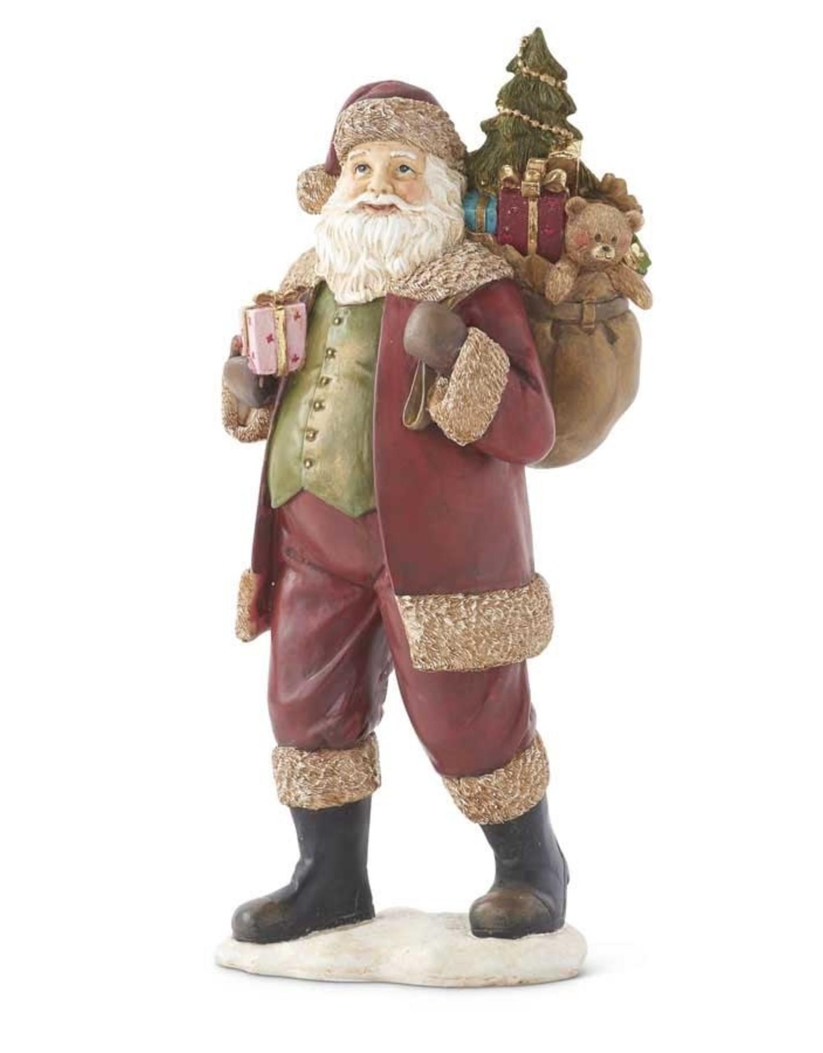 K & K Interiors Santa w/Bag