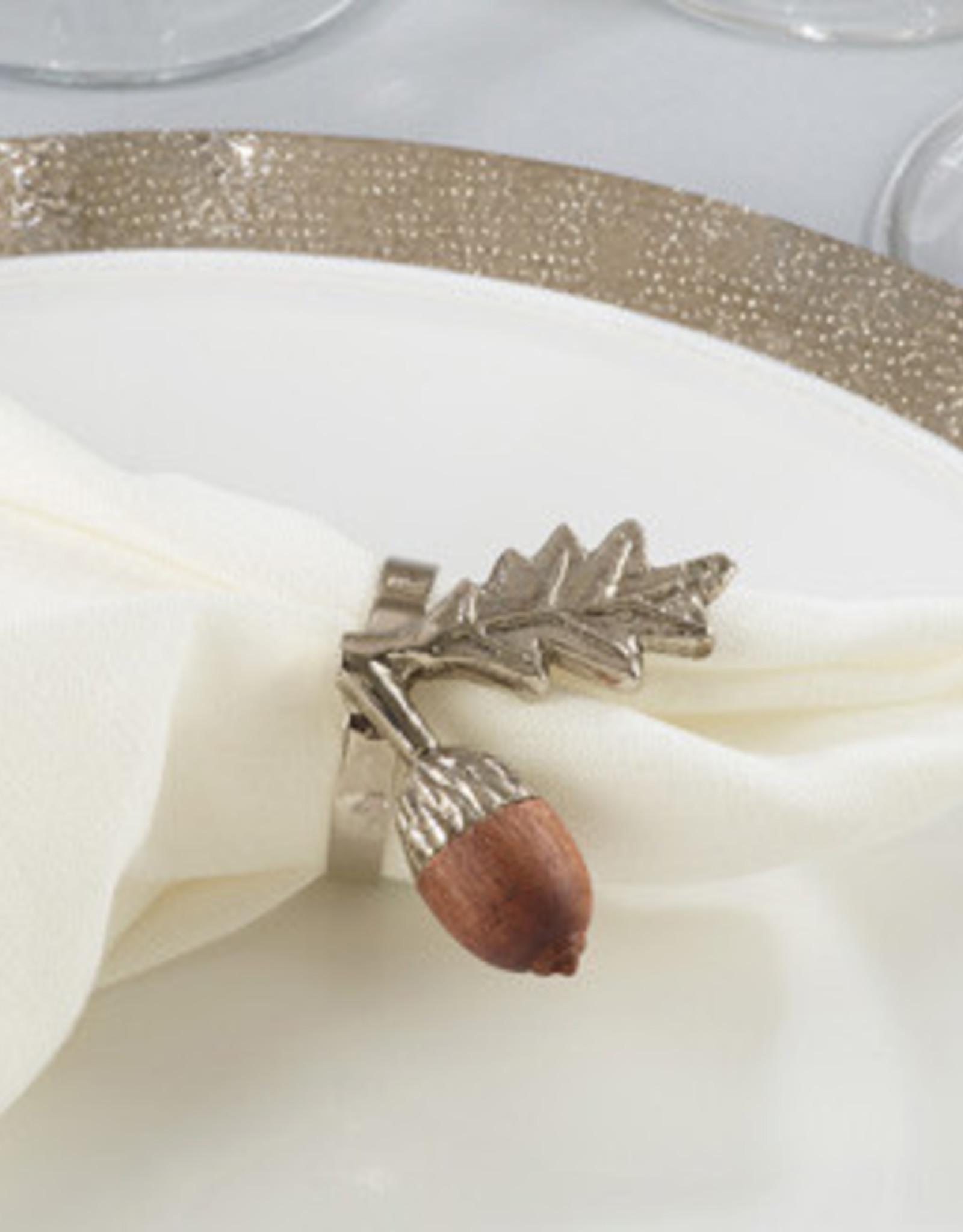 Saro Acorn Napkin Ring