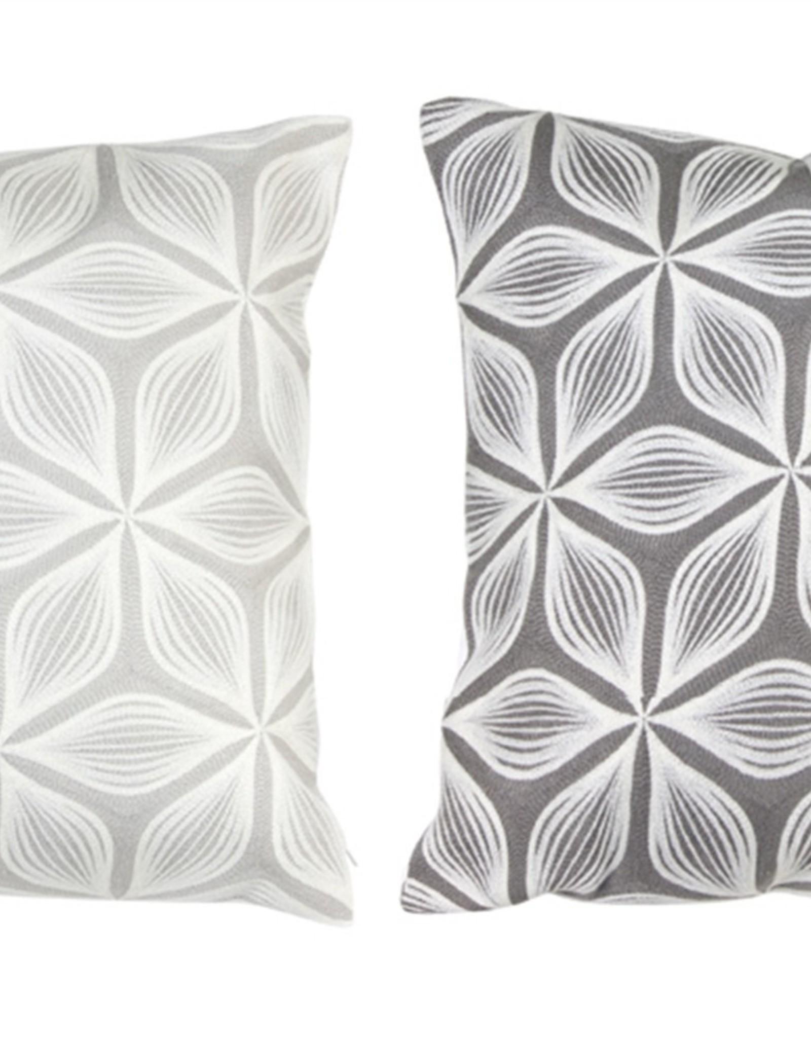 """Melrose Starburst Flower Pillow 17.5"""""""