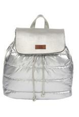 Kaleidioscope Metallic Puffer Backpack