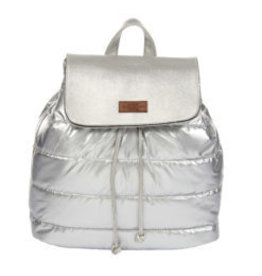 Kaleidioscope Metallic Puffer Backpack
