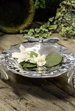 Beatriz Ball Raised Dragonfly Garden Bowl