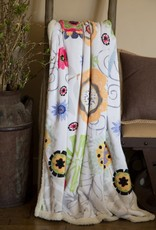 Carstens Wildflowers Sherpa Throw