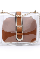 Buford Wholesale Two in One Clear Crossbody