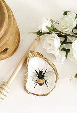 Kcrook Designs Bee Oyster Shell Dish