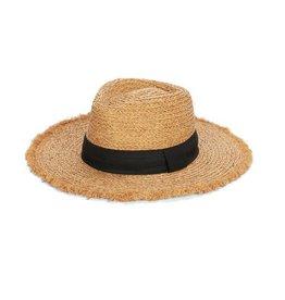 Coco & Carmen Raffia Fringe Hat