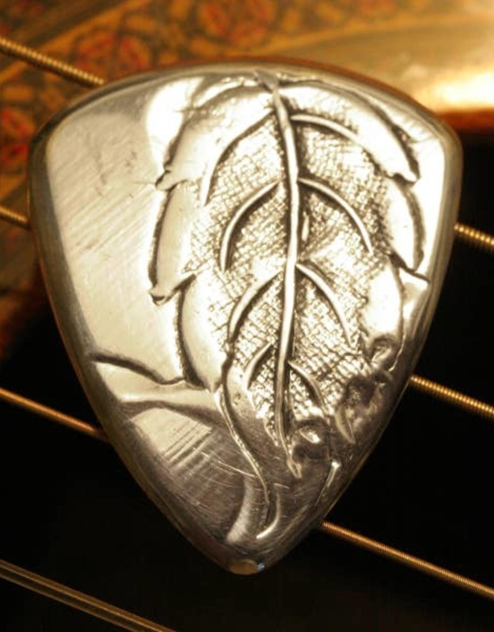 Master Artisan Guitar Picks Antique Aluminum Guitar Pick
