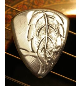 Master Artisan Guitar Picks Antique Aluminum Guitar Pick