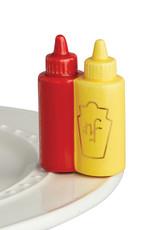 Nora Fleming A230 Ketchup/Mustard Mini