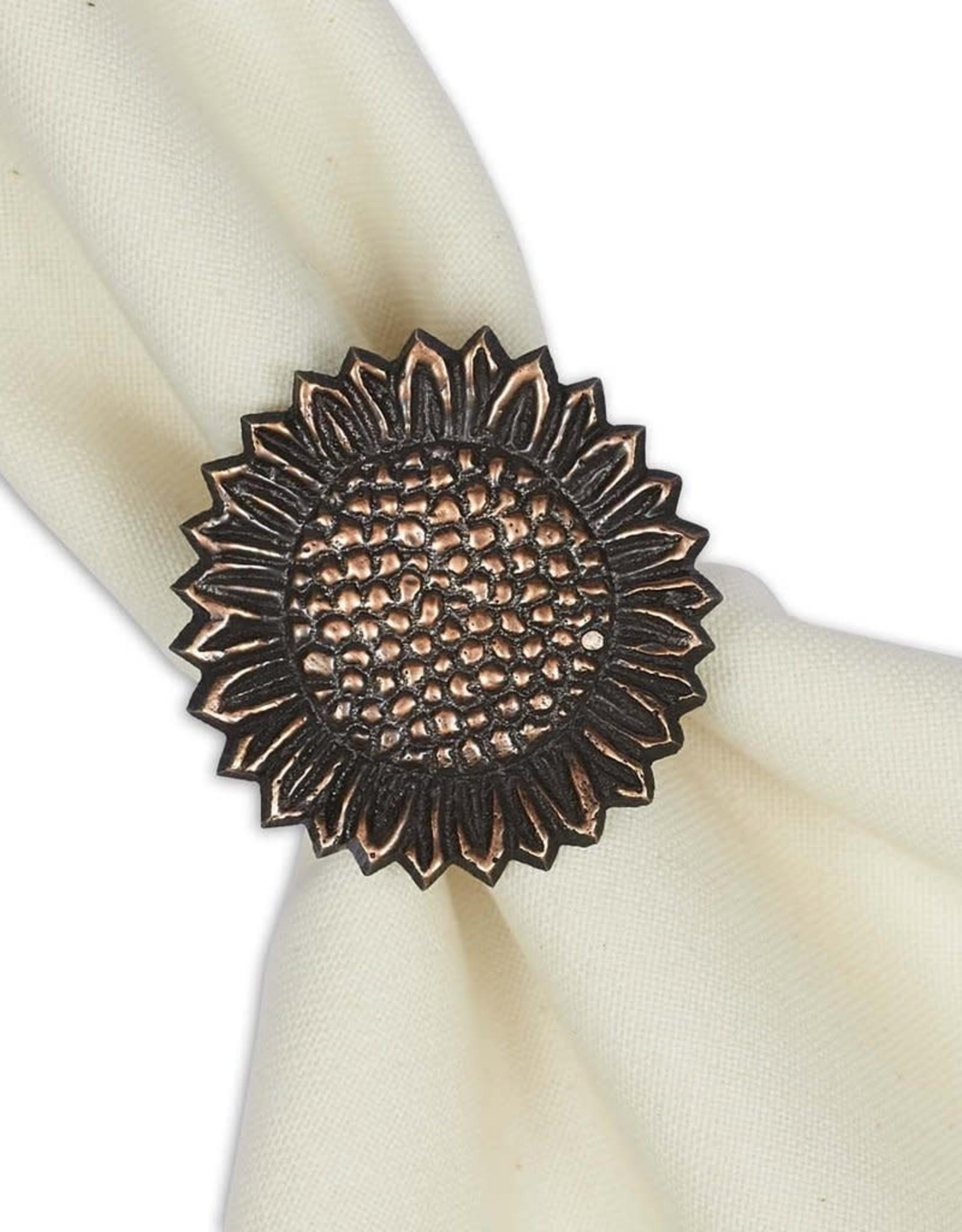Design Imports Sunflower Napkin Ring