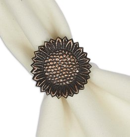 Design Imports Sunflower Napkin Ring