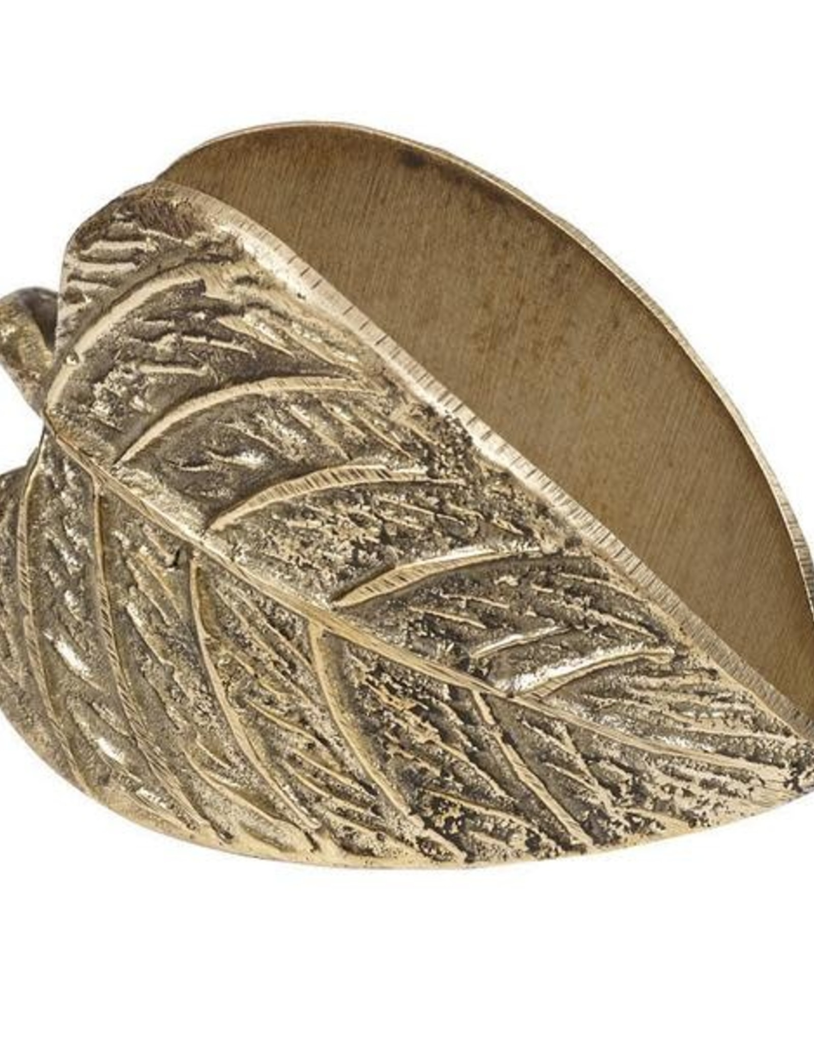 Design Imports Leaf Napkin Rings