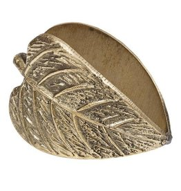 Design Imports Leaf Napkin Rings