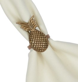 Design Imports Pineapple napkin ring