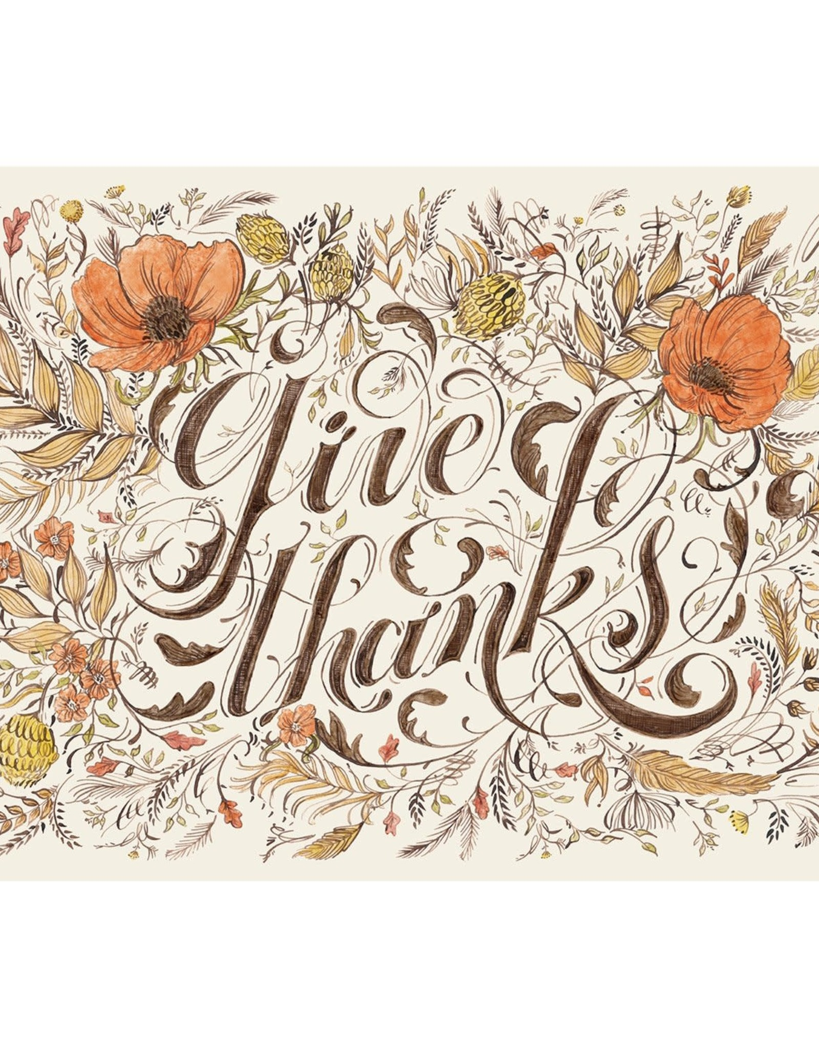 Hester & Cook Give Thanks Placemats