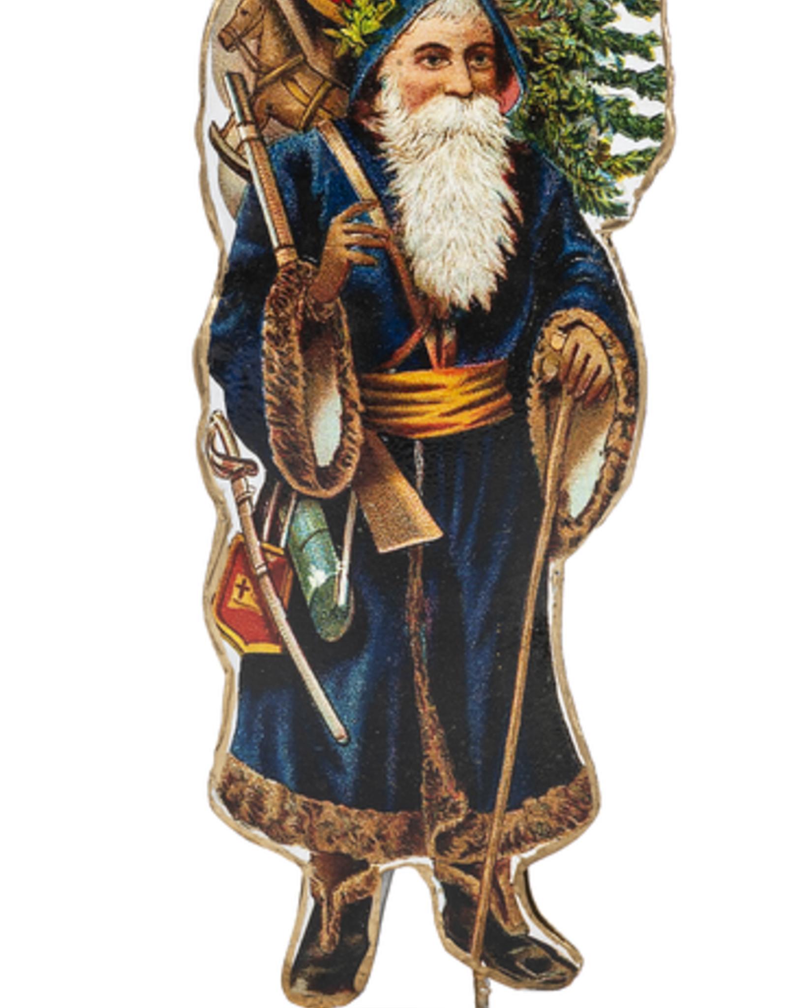 Midwest-CBK Vintage Metal Santa