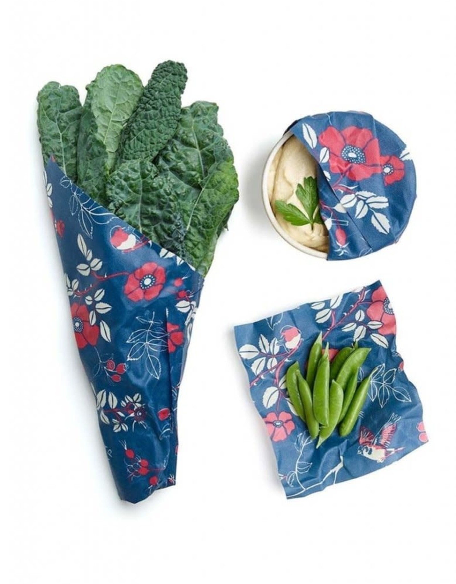 Bee's Wrap Botanical & Birds Assorted 3 Pack
