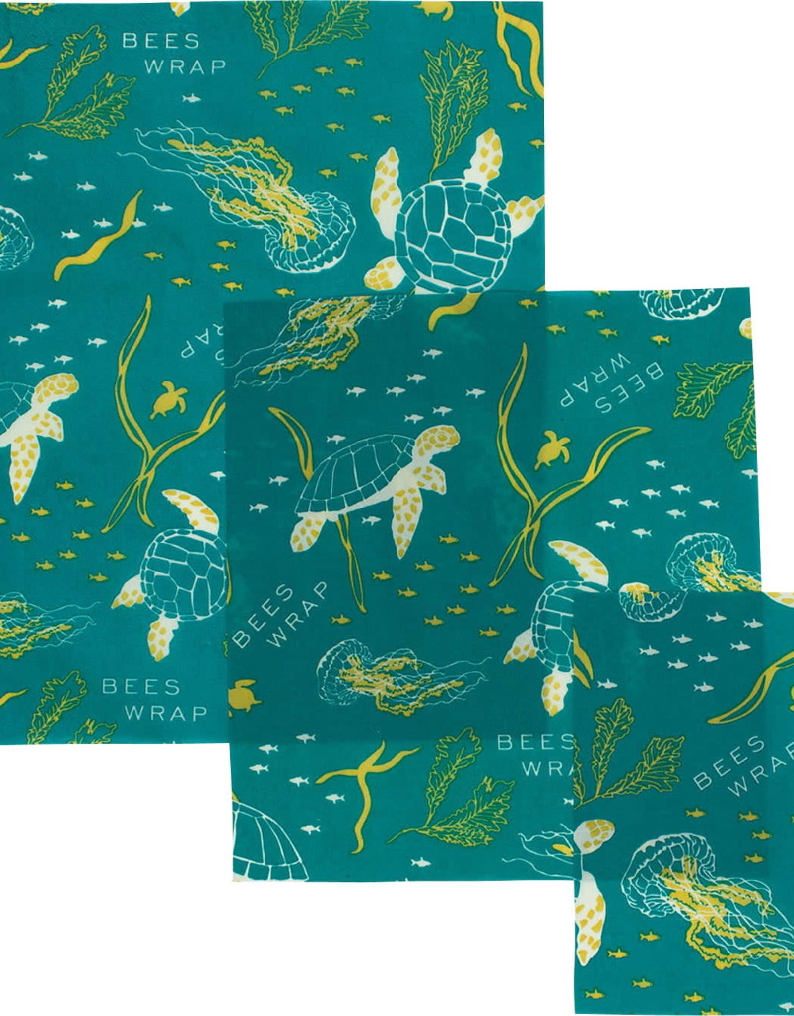 Bee's Wrap Ocean's Print Variety Pack