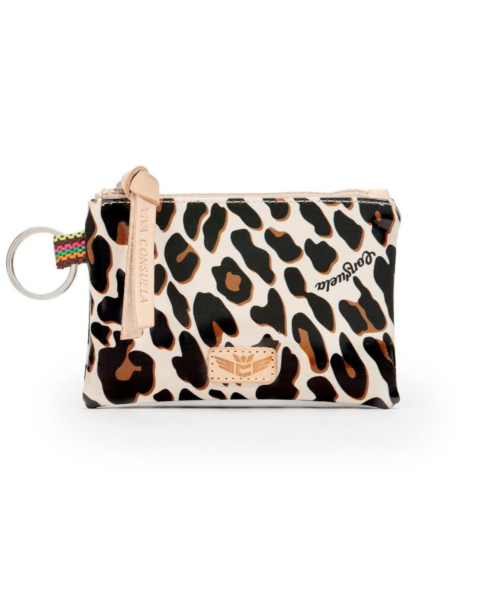 Consuela Mona  Brown Teeny Pouch