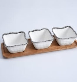 Pampa Bay Salerno Entertaining Set 4pc