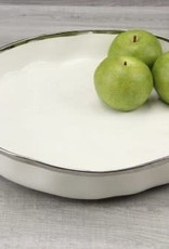 Pampa Bay Round Platter White