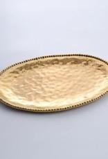 Pampa Bay Gold Large Oval Platter