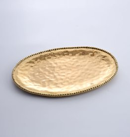 Pampa Bay Gold Large Oval Platter