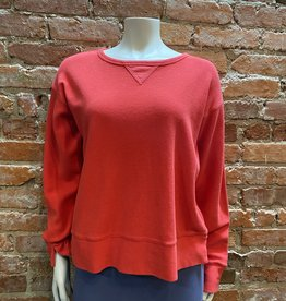 Prairie Cotton Cozy Crew Top