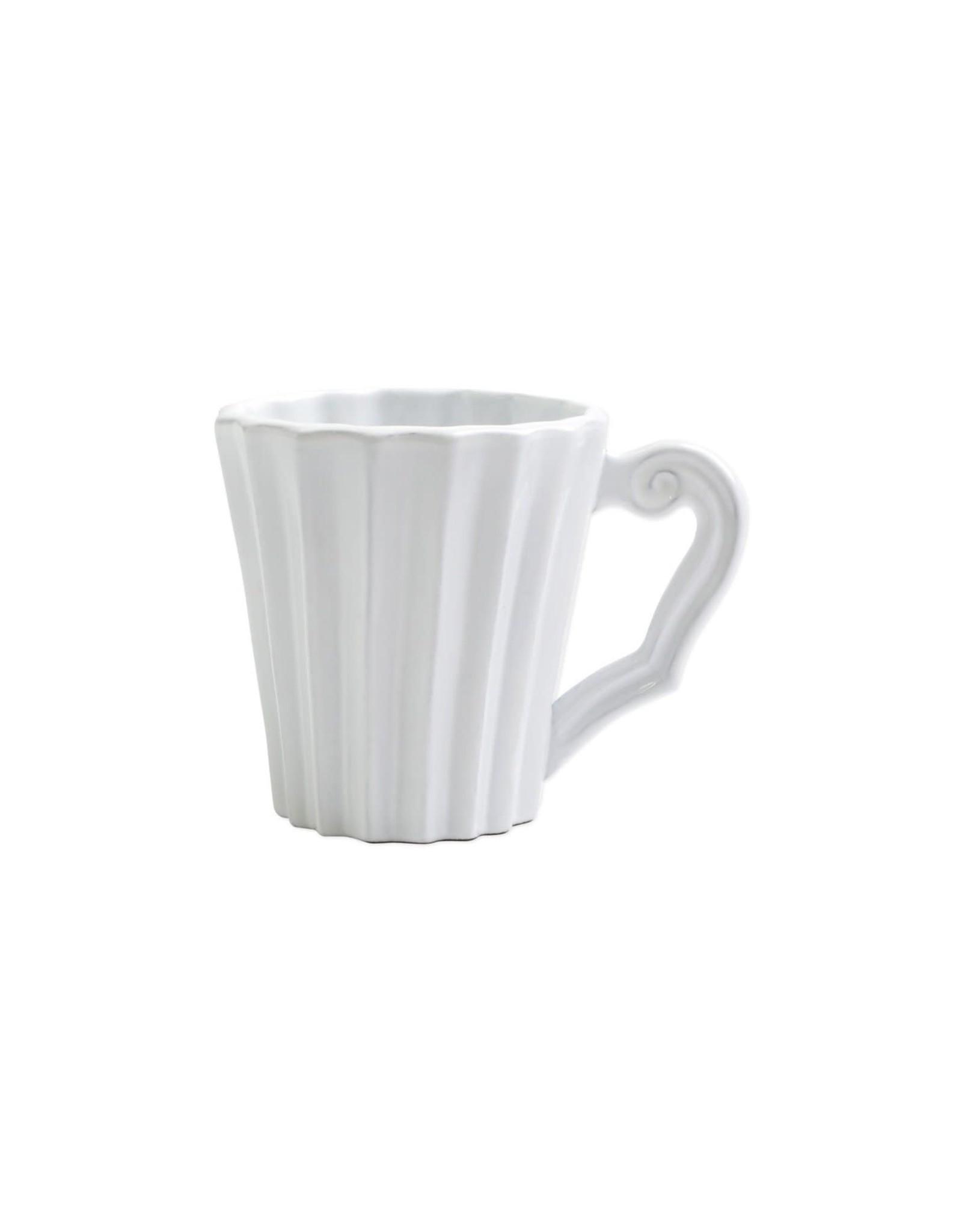 Vietri Incanto Pleated Mug