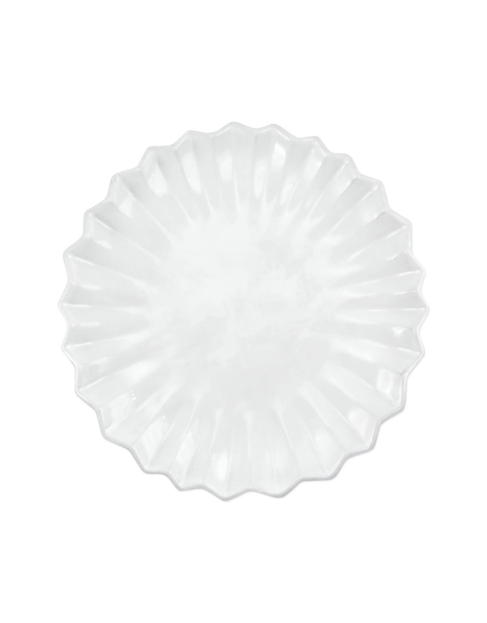 Vietri Incanto Pleated Salad Plate