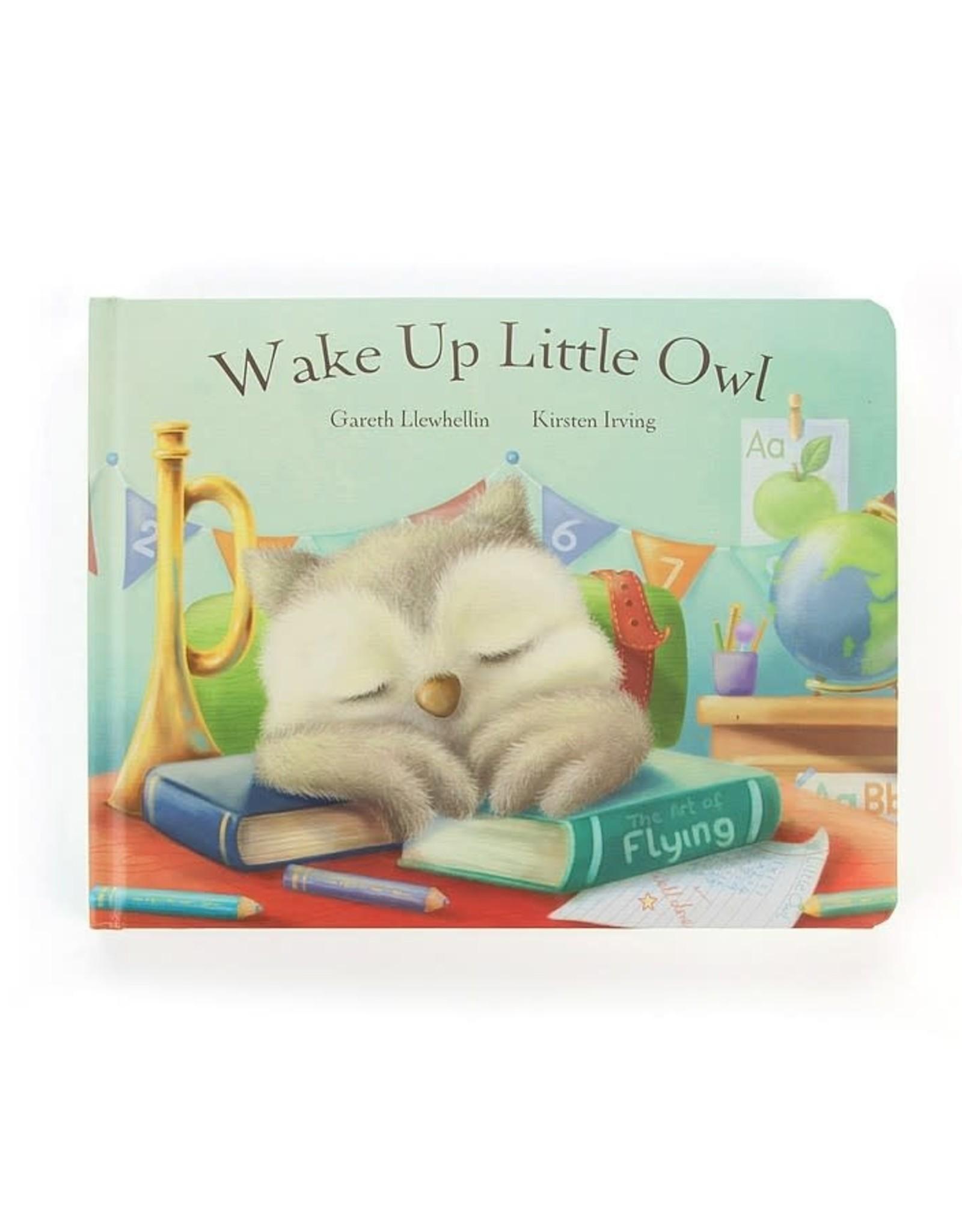 Jellycat Wake Up Little Owl Book