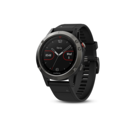 Garmin Garmin fēnix® 5 Slate Gray with Black Band