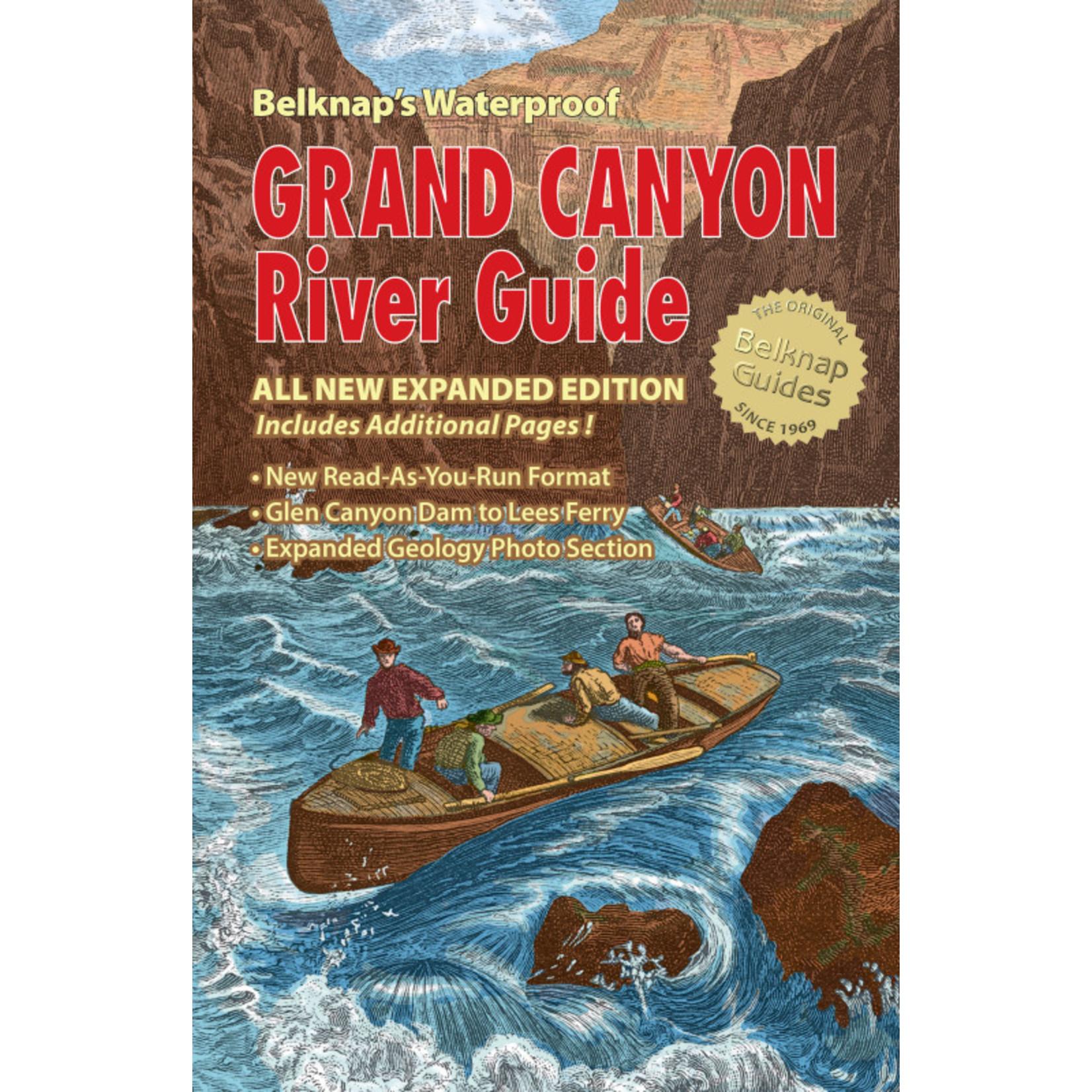 2017 Belknap's Waterproof Grand Canyon River Guide