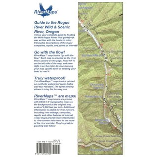 Rivermaps RiverMaps Rogue River 2nd Edition Guide Book