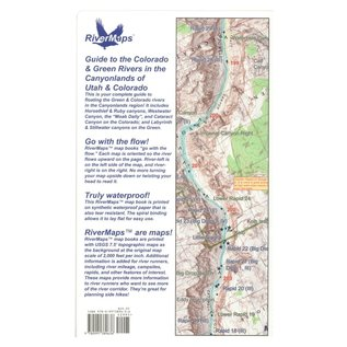 Rivermaps RiverMaps Colorado & Green Rivers in the Canyonlands Guide Book