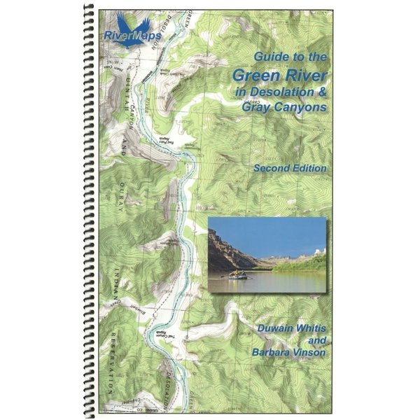 Rivermaps RiverMaps Green River in Desolation & Gray Canyons Guide Book