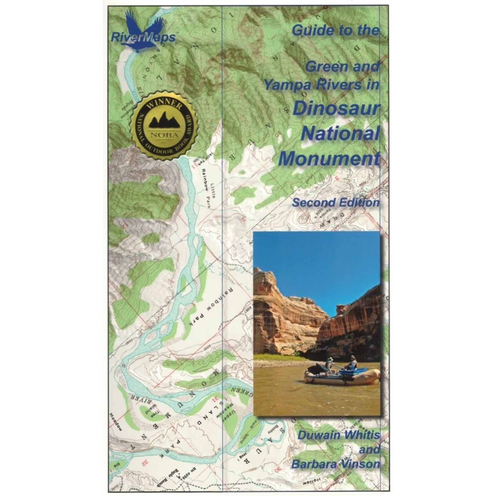 Rivermaps RiverMaps Green & Yampa in Dinosaur National Monument Guide Book