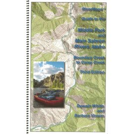Rivermaps RiverMaps Middle Fork & Main Salmon River Guide Book