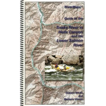 Rivermaps RiverMaps Hell's Canyon & Lower Salmon Guide Book